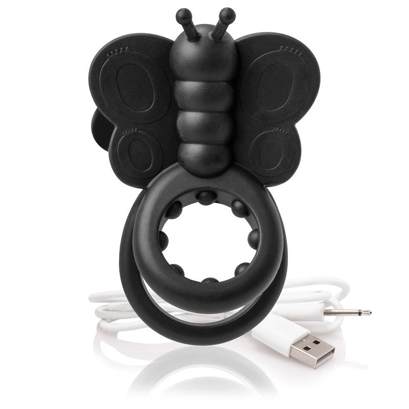 Charged Mariposa - Negro de SCREAMINGO #satisfactoys