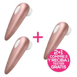 Pack 2 Satisfyer 1 Next Gen. + 1 Tester Free