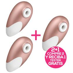 Pack 2 Satisfyer Pro Deluxe Next. G.+1 Tester Free