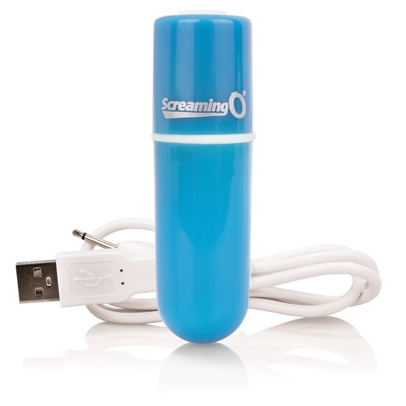 Charged Vooom Bala Vibradora - Azul de SCREAMINGO #satisfactoys