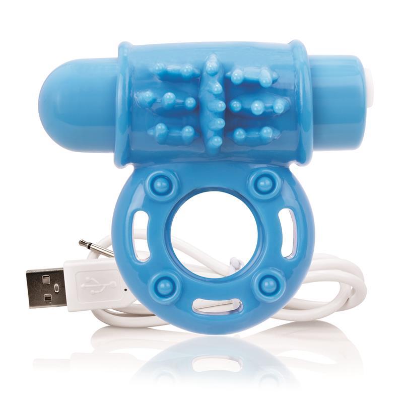 Charged Anillo Vibrador Owow - Azul de SCREAMINGO #satisfactoys