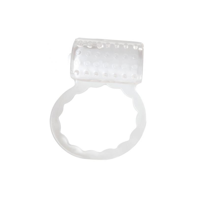 Cock Ring with Vibrating Bullet Pocket Vibe