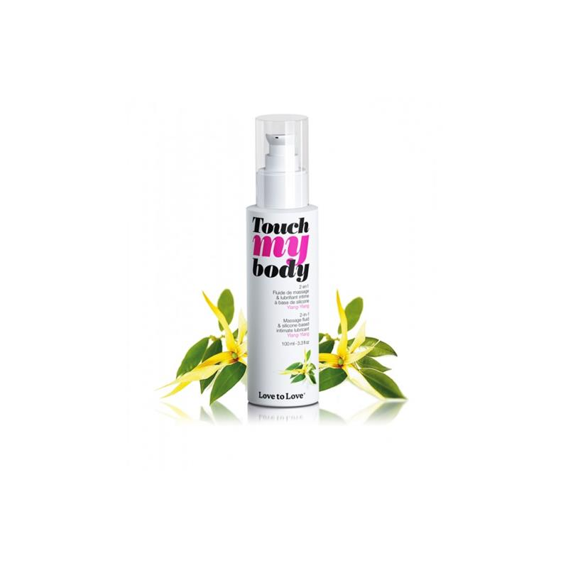 Lubricant and Massaje Oil Touch my Body Ylang Ylang Aroma