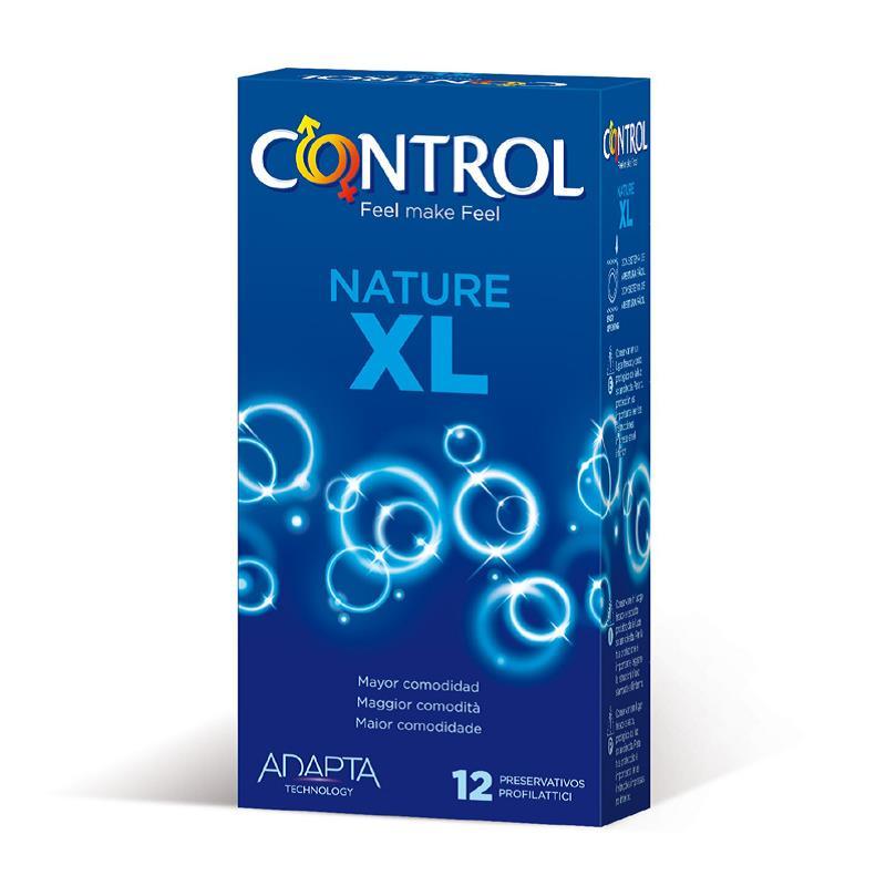 Preservativos Nature XL 12 unidades de CONTROL #satisfactoys