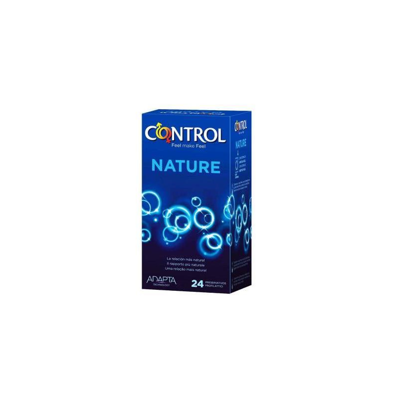 Preservativos Nature 24 unidades de CONTROL #satisfactoys
