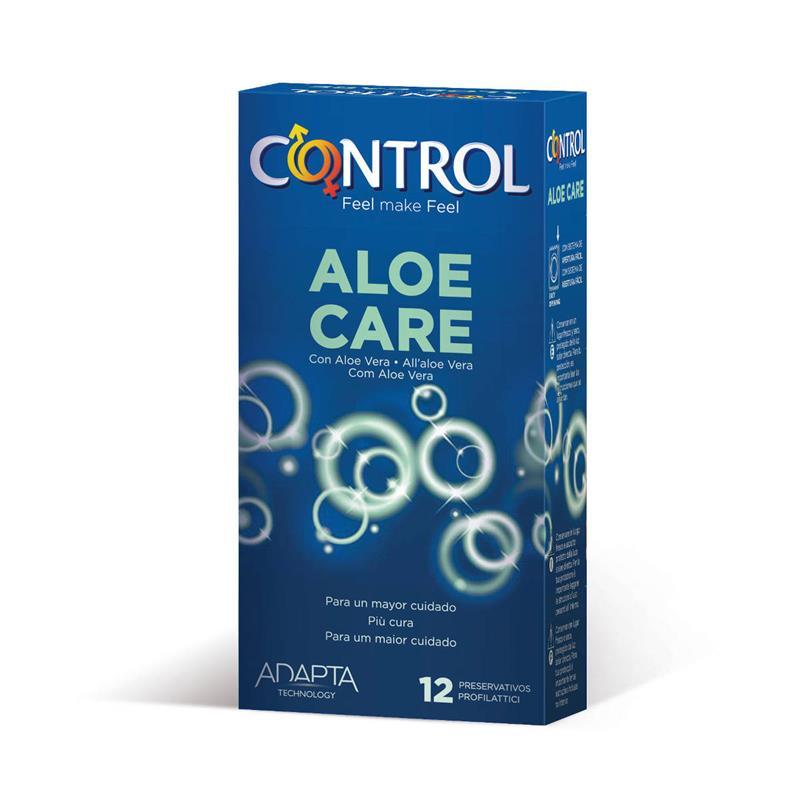 Preservativos Aloe Care 12 unidades de CONTROL #satisfactoys