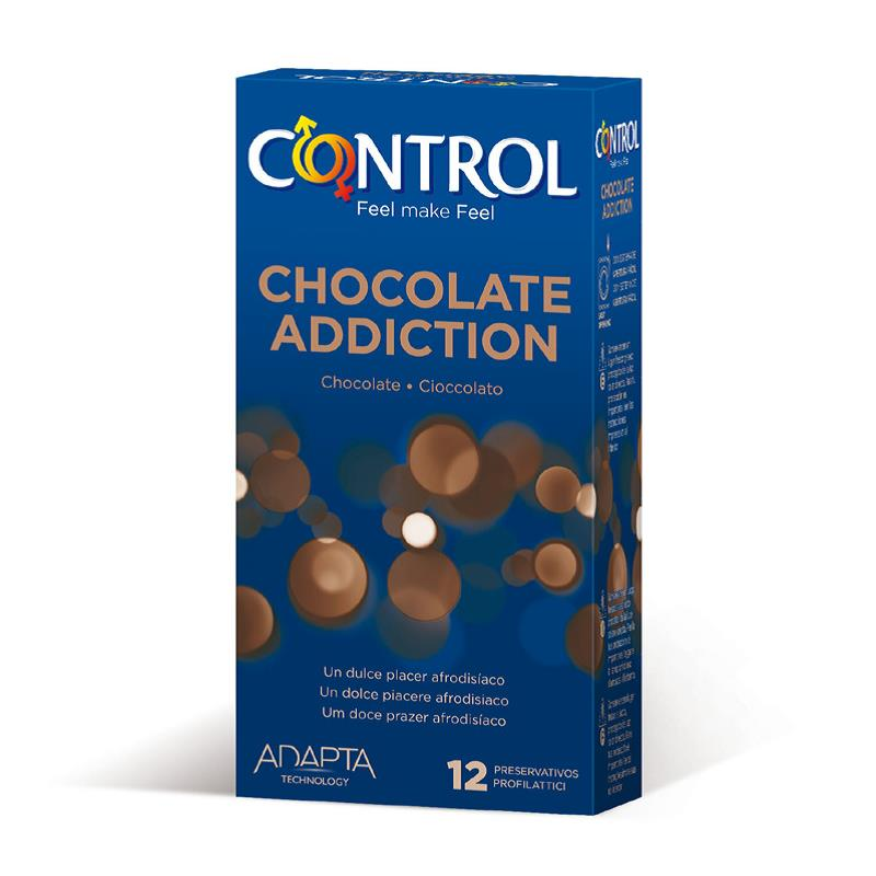 Preservativos Chocolate Addiction 12 unidades de CONTROL #satisfactoys