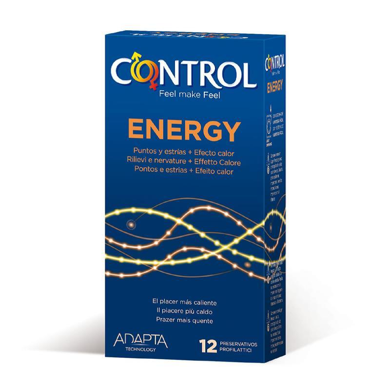 Preservativos Energy 12 unidades de CONTROL #satisfactoys