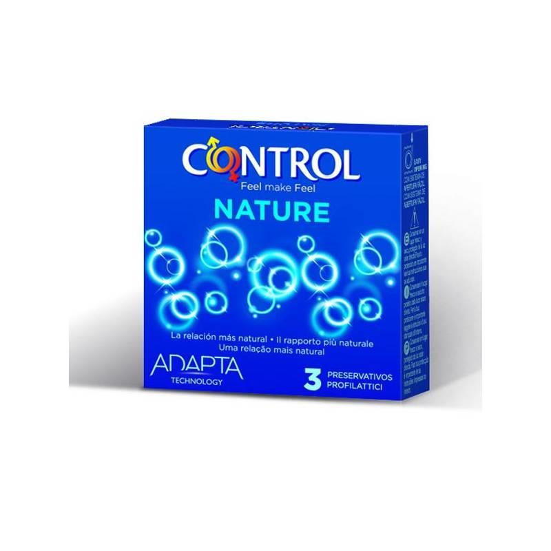 Preservativos Nature 3 unidades de CONTROL #satisfactoys