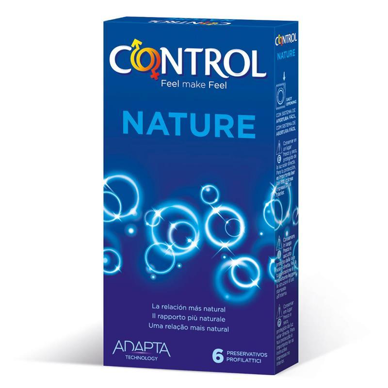 Preservativos Nature 6 unidades de CONTROL #satisfactoys