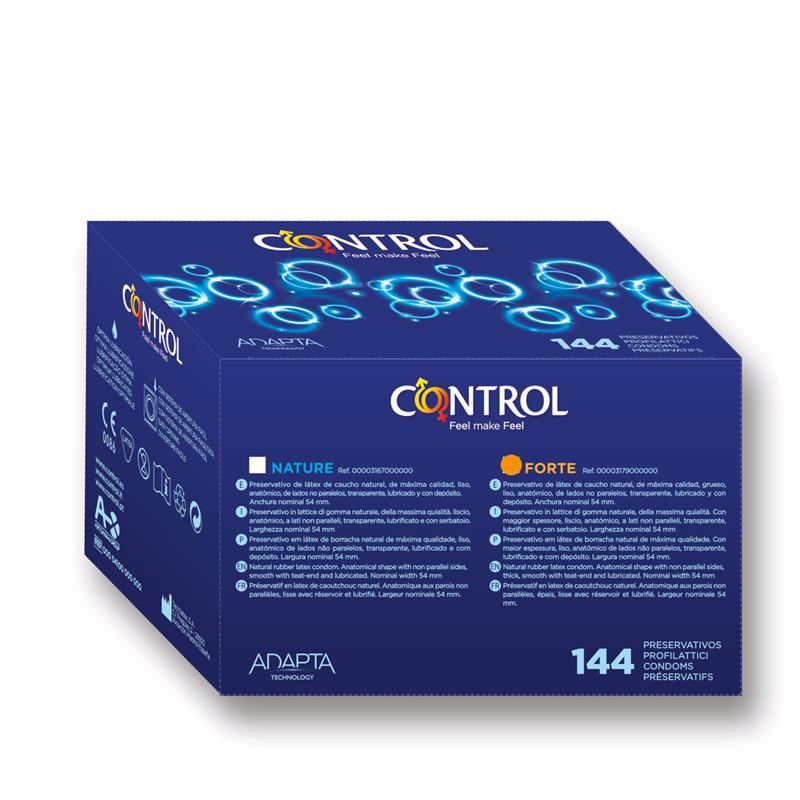 Preservativos Caja Profesional Forte 144 unidades de CONTROL #satisfactoys