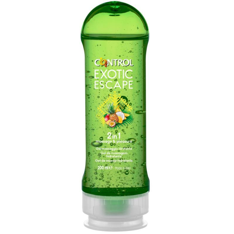 Masážní gel exotické Escape 2 v 1 - 200 ml