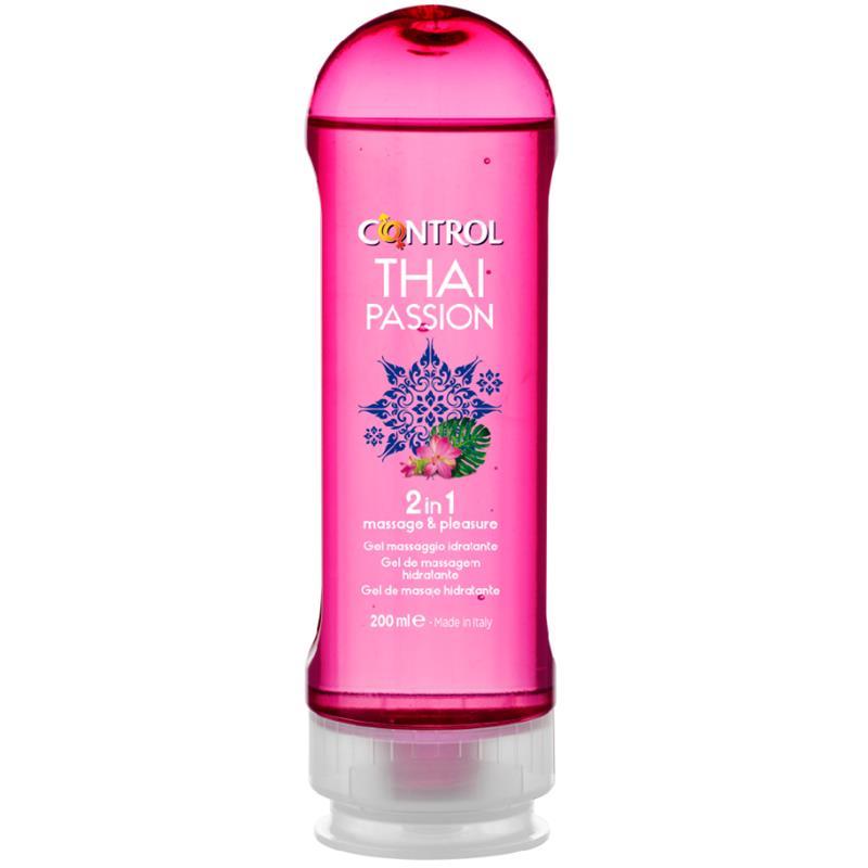 Gel de Masaje Thai Passion 2 en 1 - 200 ml de CONTROL #satisfactoys