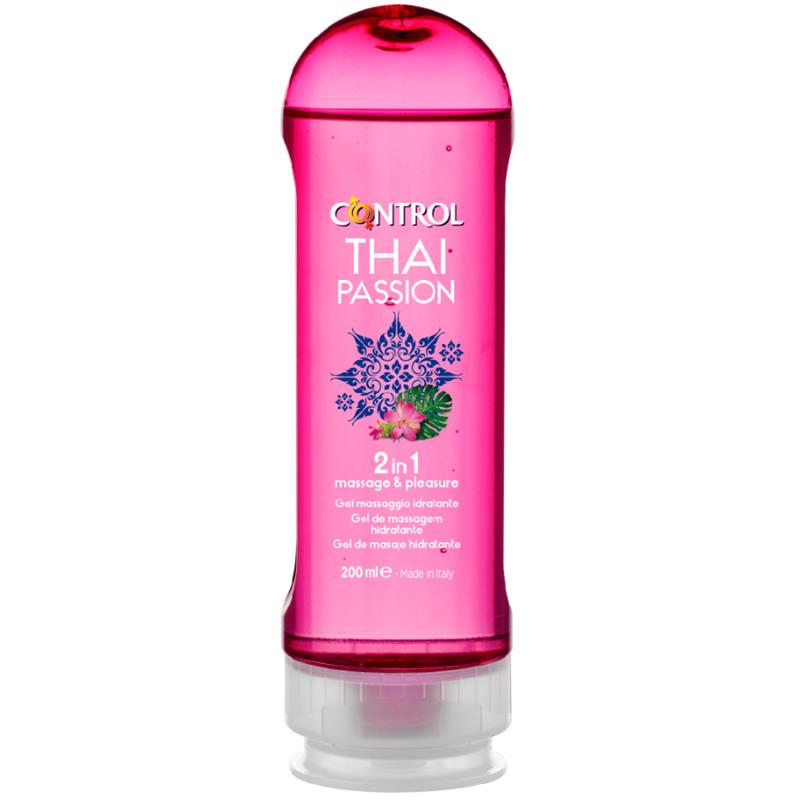 Masážní gel Thai Passion 2 v 1 - 200 ml