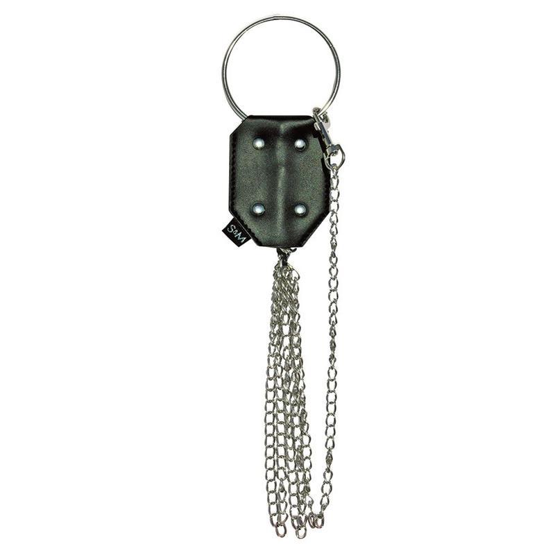 Vegan Leather Chain Leash