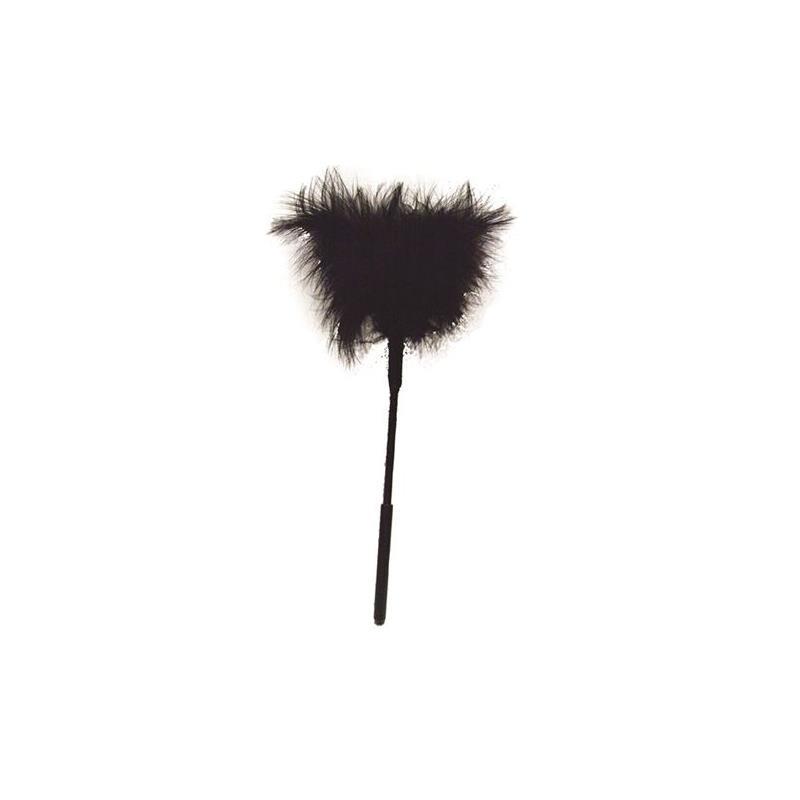 Plumas de Color Negro de SEX & MISCHIEF #satisfactoys