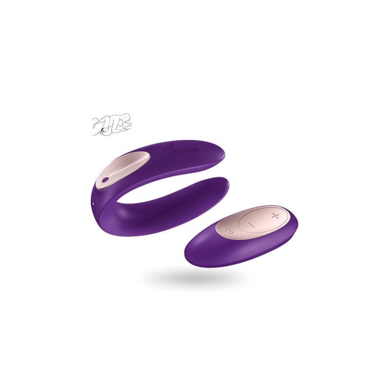 Satisfyer Plus Dálkové ovládání Purple