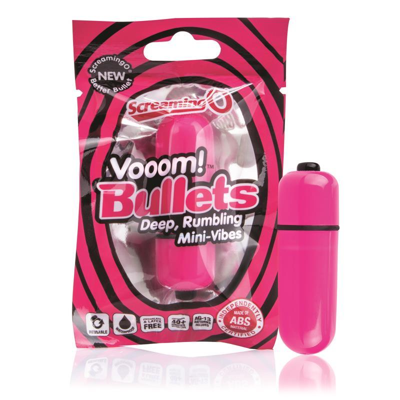 Balas Vibradoras - Color Rosa de SCREAMINGO #satisfactoys