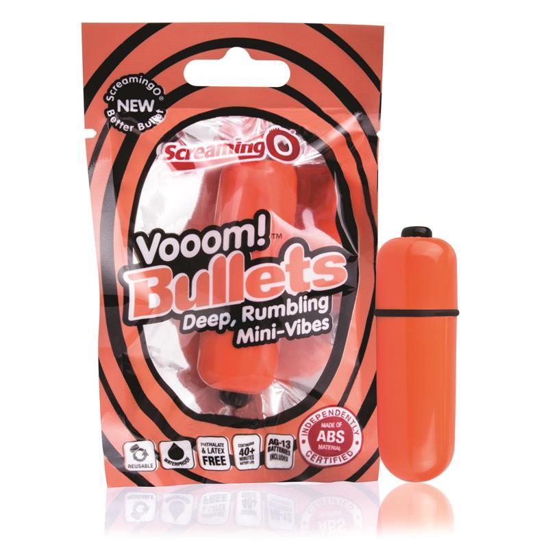 Bala Vibradora - Color Naranja de SCREAMINGO #satisfactoys