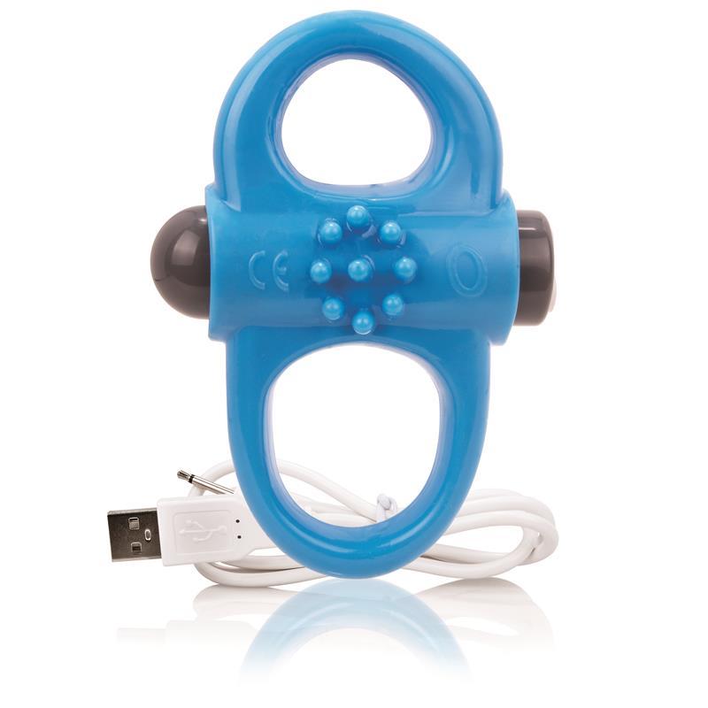 Charged Anillo Vibrador Yoga - Azul de SCREAMINGO #satisfactoys