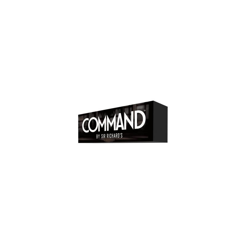Command by Sir Richards Promotional 3D Sign