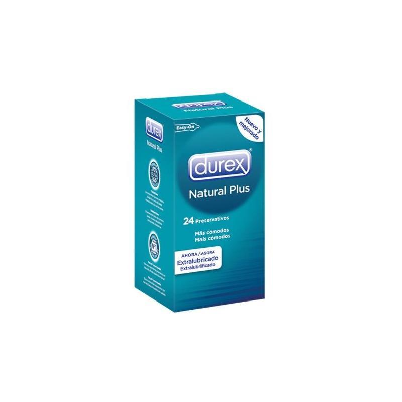 Preservativos Natural Plus 24 Unidades de DUREX #satisfactoys