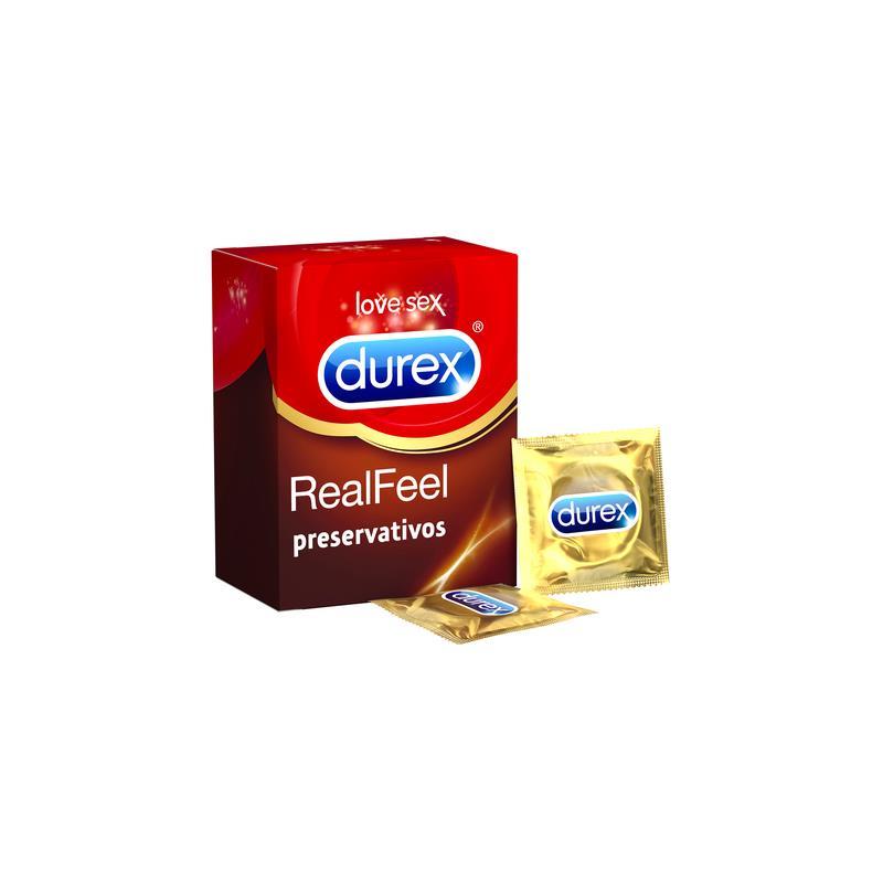 Preservativos Real Feel 24 Unidades de DUREX #satisfactoys