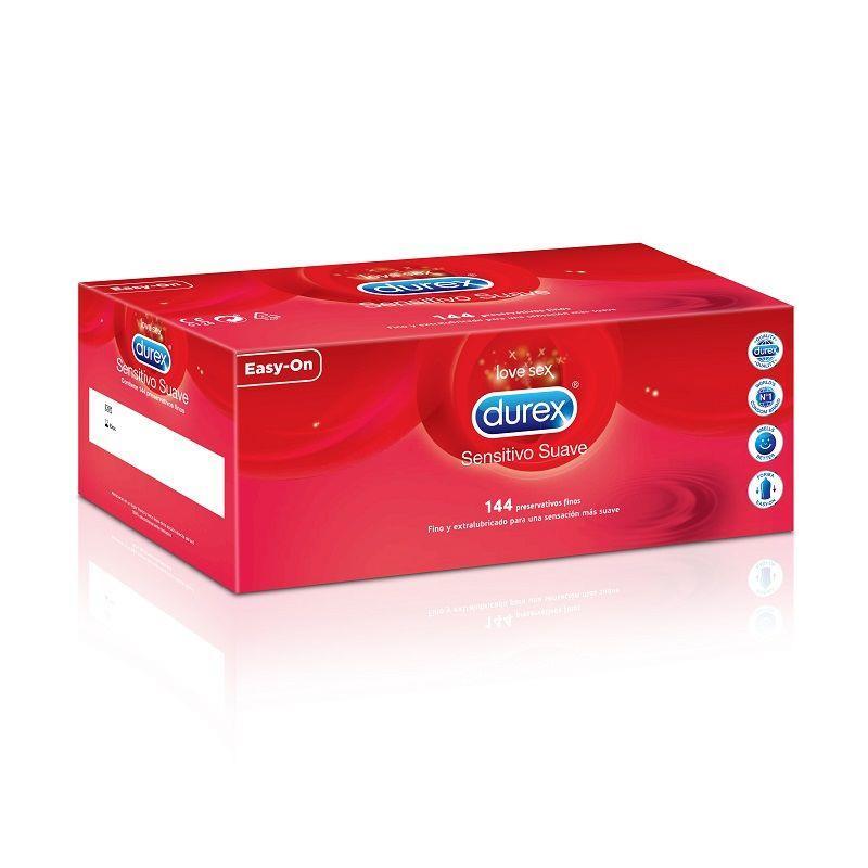 Preservativos Sensitivo Suave 144 Unidades de DUREX #satisfactoys