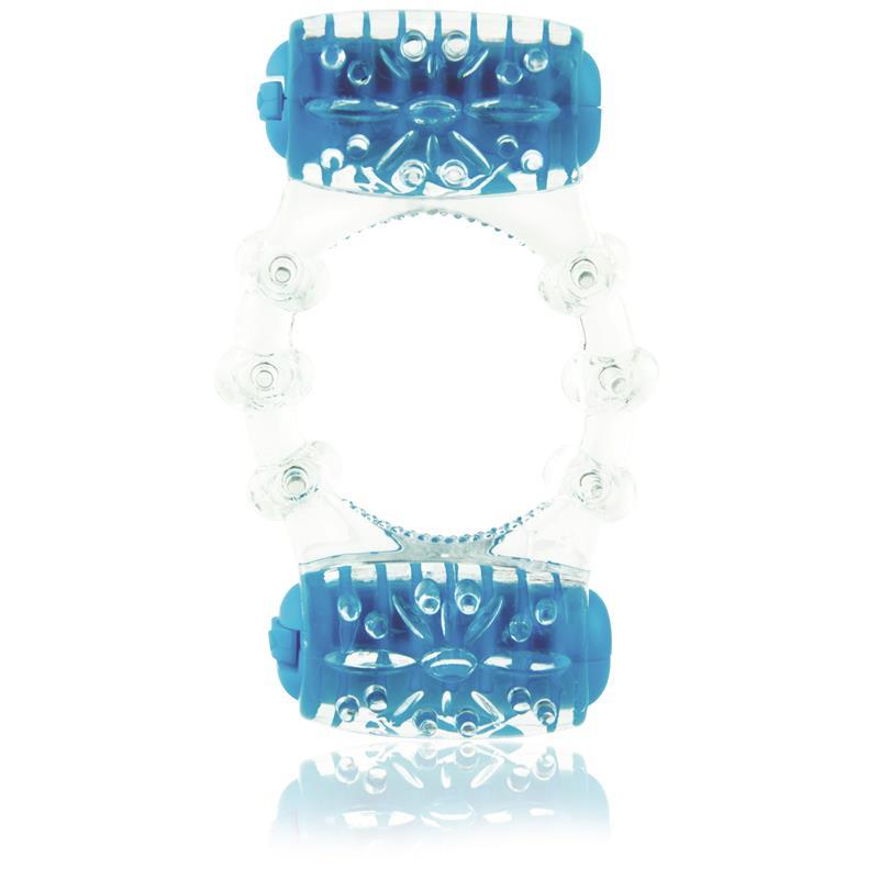 Doble Anillo Colorpop - Azul de SCREAMINGO #satisfactoys
