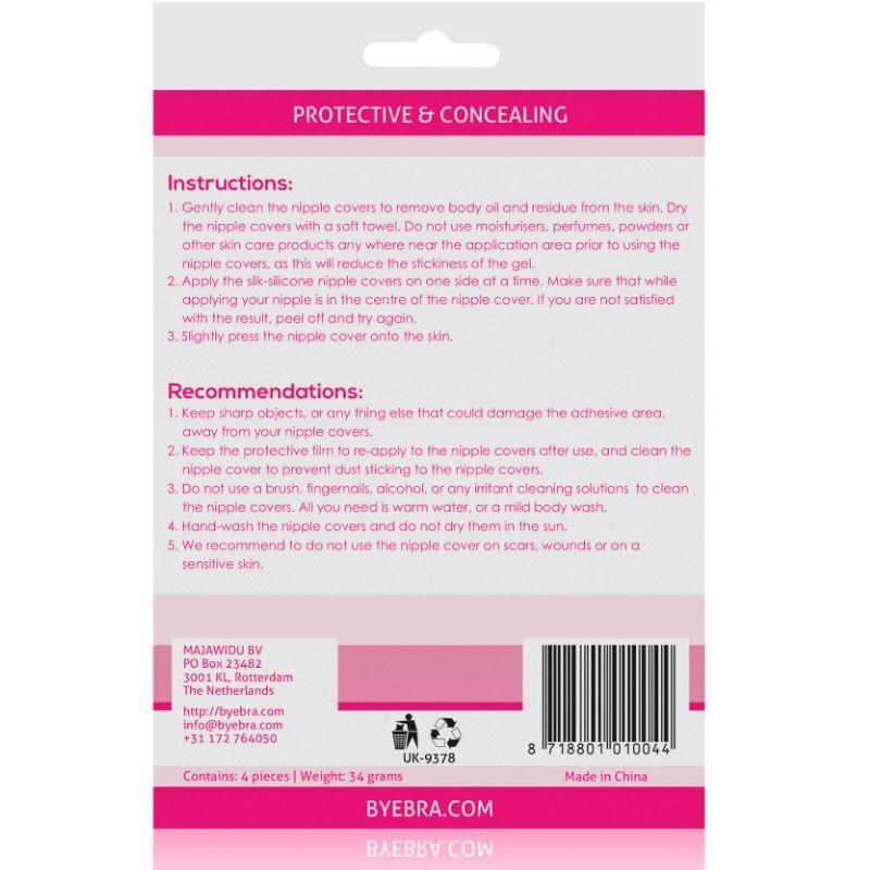 Pezoneras de Silicona Color Natural (2)