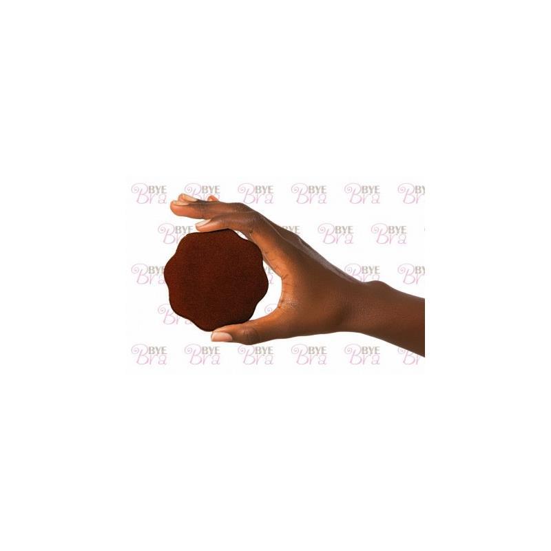Pezoneras de Silicona Color Marrón (2)