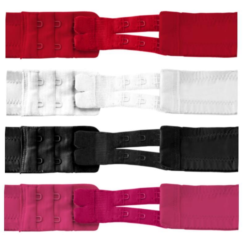 Flexibilní Bra Extender 2-hák 4 barvy