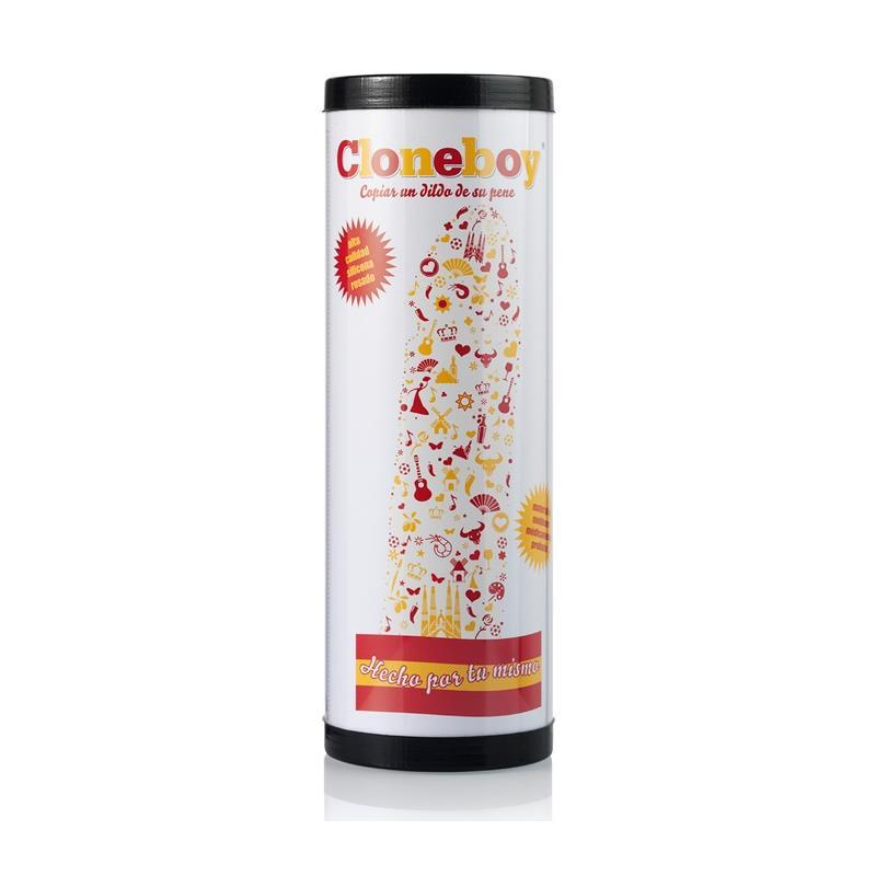 Clonador Dildo Edición España de CLONEBOY #satisfactoys