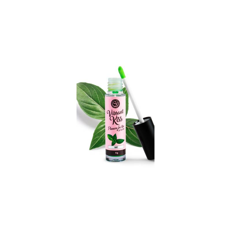 Lip Gloss Vibrant Kiss Flavor Mint