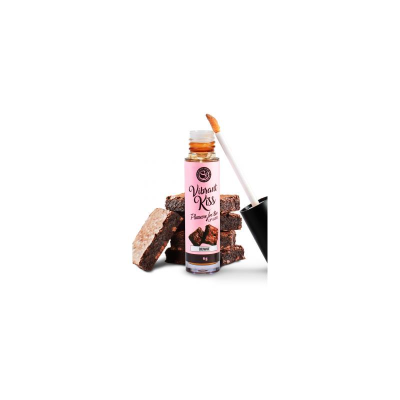 Lip Gloss Vibrant Kiss Flavor Brownie