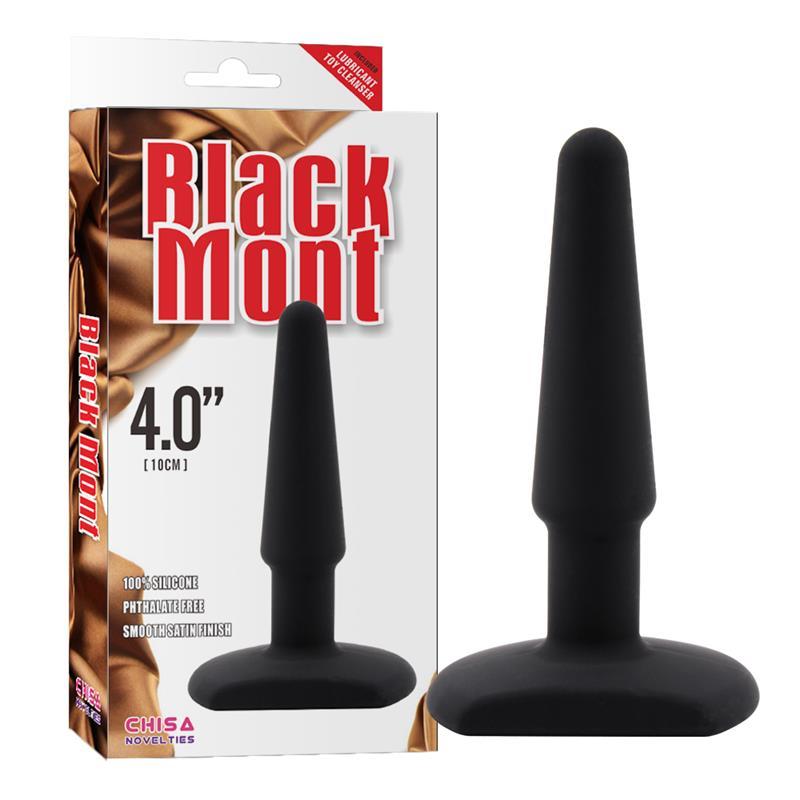 Butt Plug 4 Silicone Black