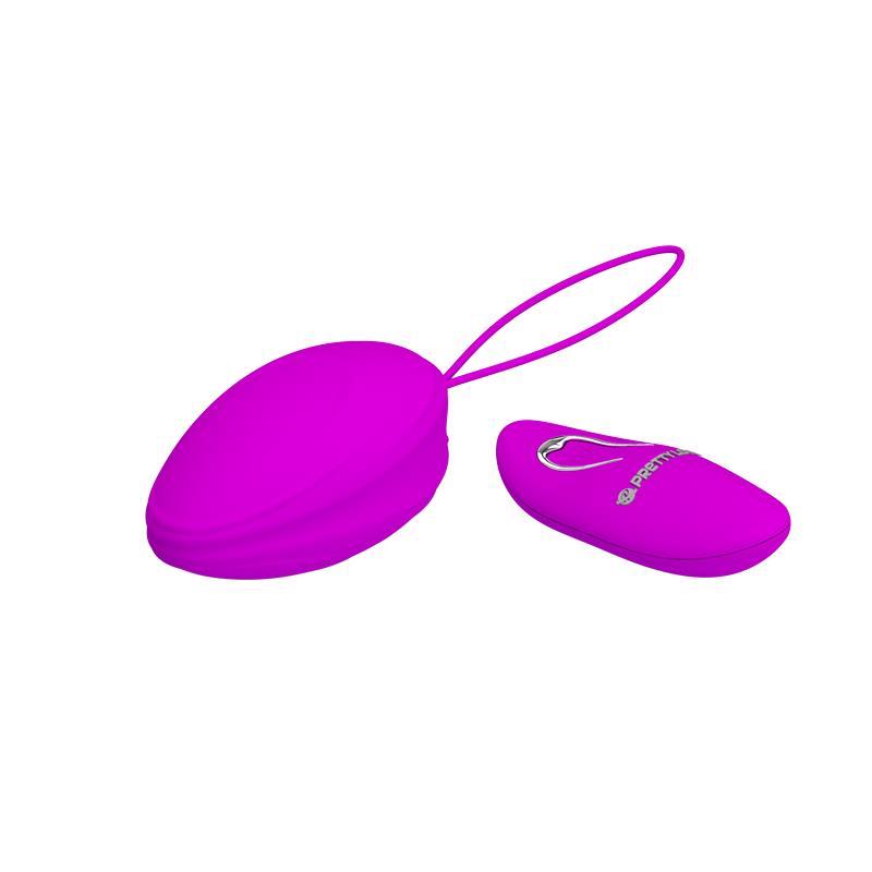 Vibrační vajíčko na dálkové ovládání se silikonovým pouzdrem