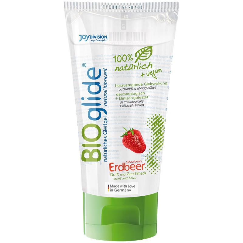 BIOglide jahoda 80 ml
