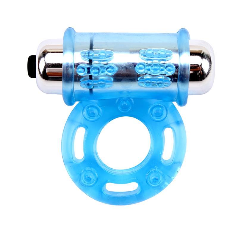 Vibrating Bull Ring-Blue