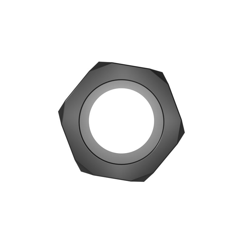 Nust Bolts Cock Ring-Black