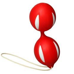Ben Wa-Orgasm Balls-Red-Pvc
