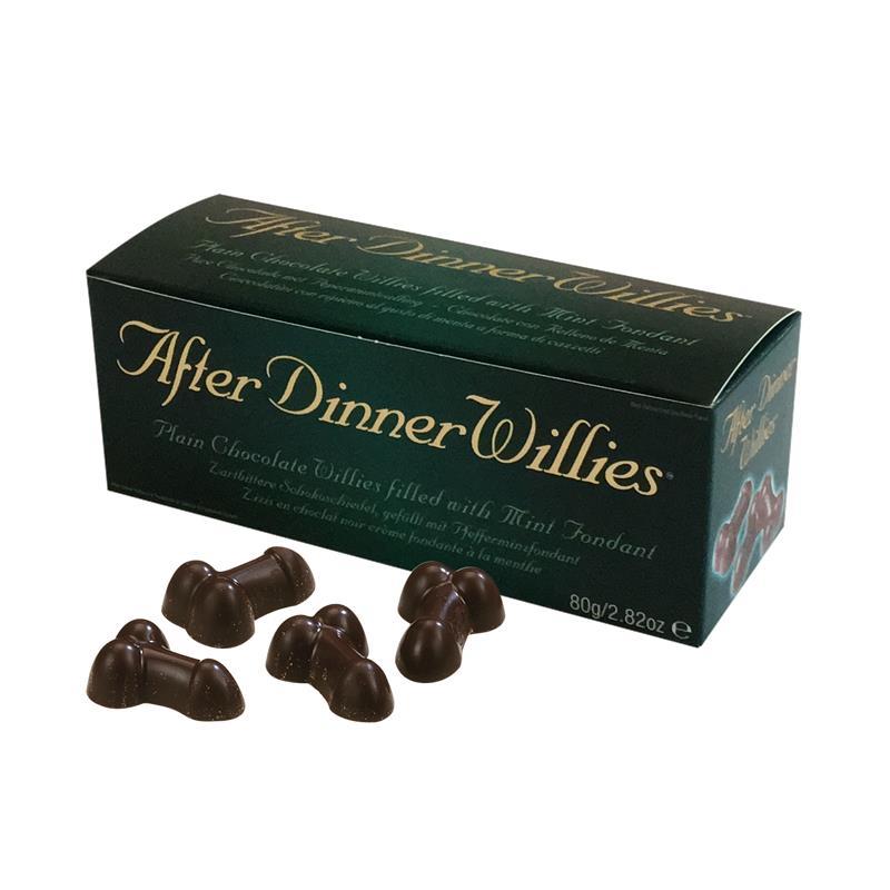 Chocolatinas con Menta Penes 8 Unidades de SPENCER & FLEETWOOD #satisfactoys