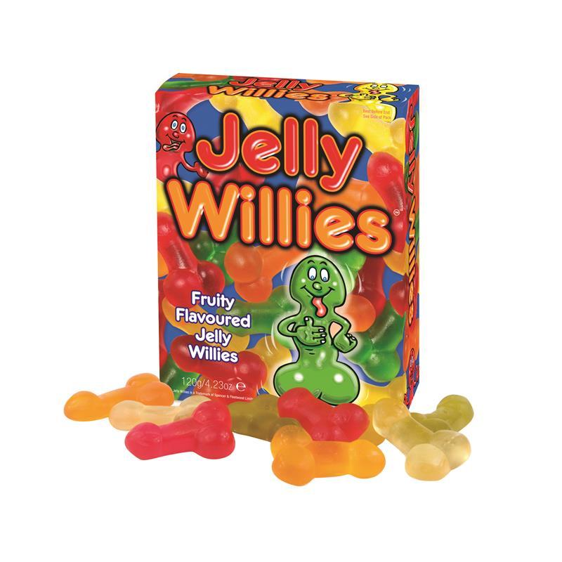 Gominolas Forma de Pene Sabor a Frutas 120 gr de SPENCER & FLEETWOOD #satisfactoys