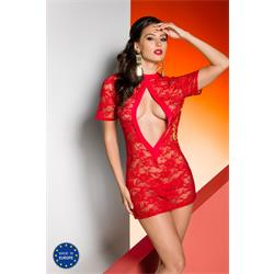 RIKA CHEMISE red S/M - Avanua