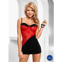 TIFFANY CHEMISE red S/M - Avanua