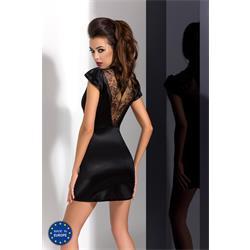 BRIDA PEIGNOIR black S/M - Passion