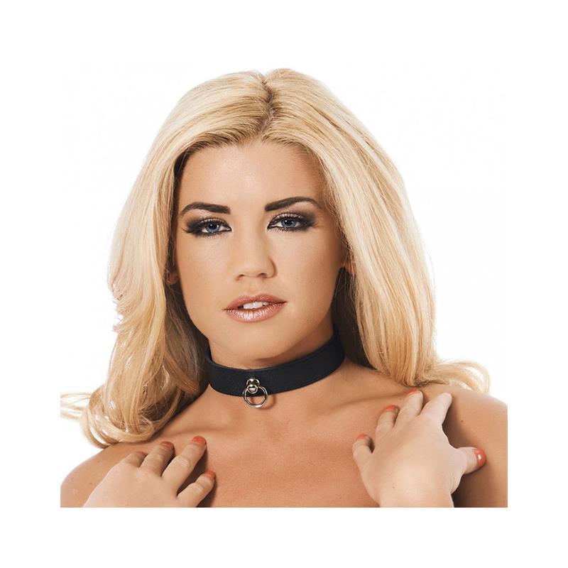 Leather Collar Velikost: S/M
