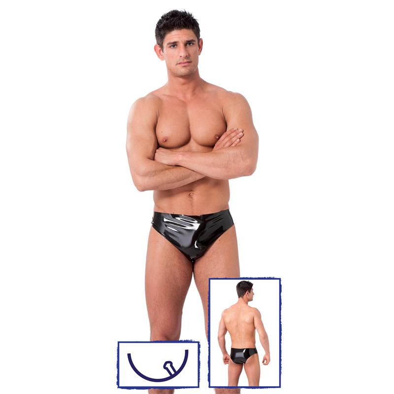 Rimba Latex Play Boxer Con Plug de LATEX PLAY #satisfactoys