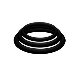 POTENZplus Pack de 3 (Grande, Mediano y Pequeño) - Color Negro