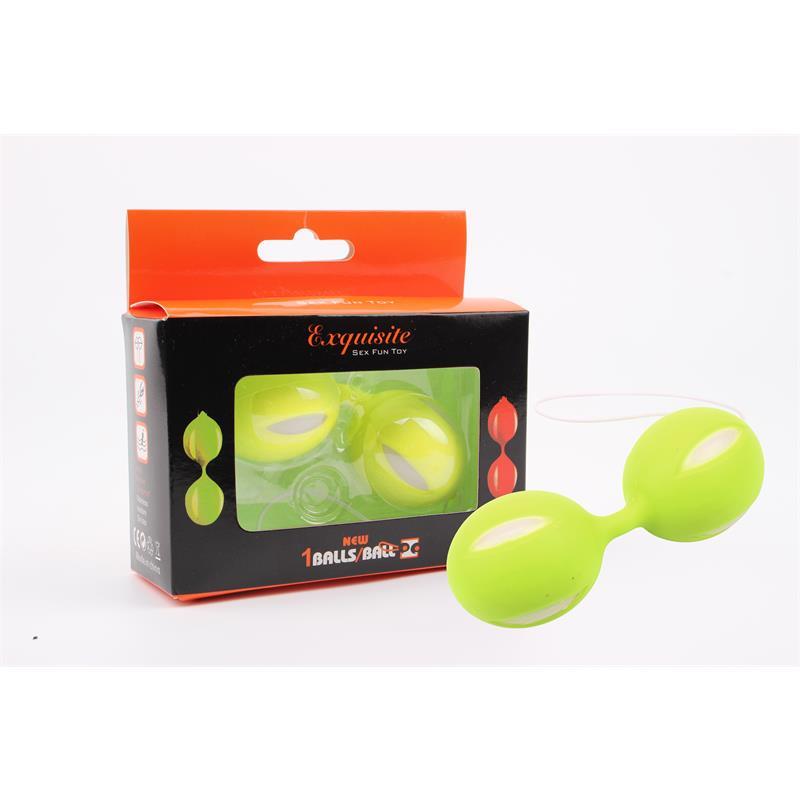 Ben Wa Balls 10.3 cm Green